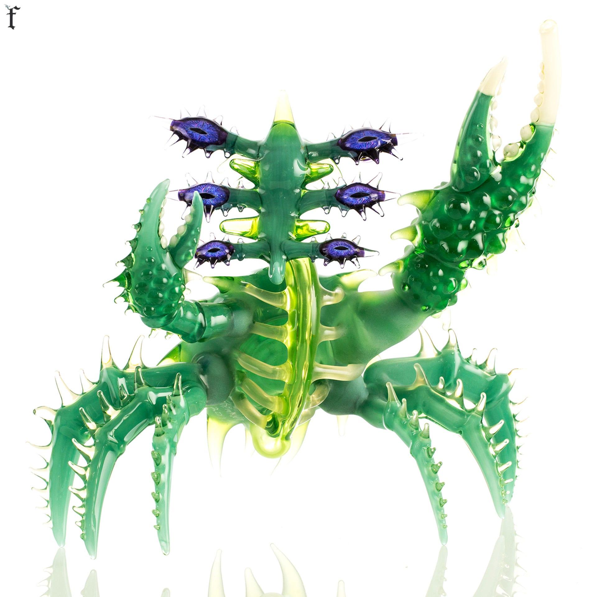 greenaliencrab